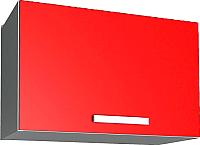Шкаф под вытяжку Интерлиния Мила Лайт ВШГ50-360 (красный) -