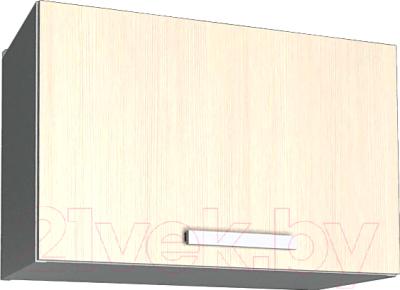 Шкаф под вытяжку Интерлиния Мила Лайт ВШГ50-360 (вудлайн кремовый)