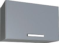 Шкаф под вытяжку Интерлиния Мила Лайт ВШГ50-360 (серебристый) -