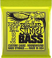 Струны для бас-гитары Ernie Ball 2832 Regular Slinky Bass 50-105 -