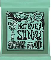 Струны для электрогитары Ernie Ball 2626 Not Even Slinky 12-56 -