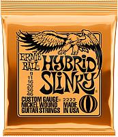 Струны для электрогитары Ernie Ball 2222 Nickel Hybrid Slinky -