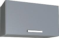 Шкаф под вытяжку Интерлиния Мила Лайт ВШГ60-360 (серебристый) -
