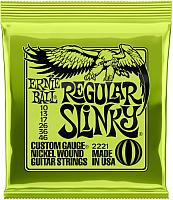 Струны для электрогитары Ernie Ball 2221 Nickel Regulat Slinky -