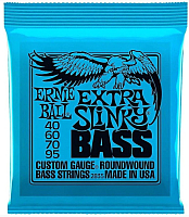 Струны для бас-гитары Ernie Ball 2835 Extra Slinky Bass 40-95 -
