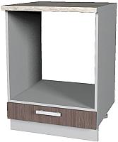 Шкаф под духовку Интерлиния Мила Лайт НШ60д (ясень темный) -