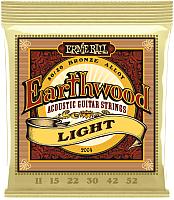 Струны для акустической гитары Ernie Ball 2004 Earthwind Light -