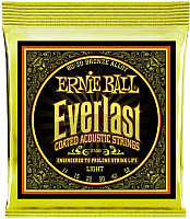 Струны для акустической гитары Ernie Ball 2558 EST 80/20 Light AC O -