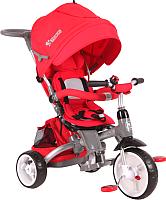 Детский велосипед с ручкой Lorelli Hot Rock / 10050300004 (красный) -