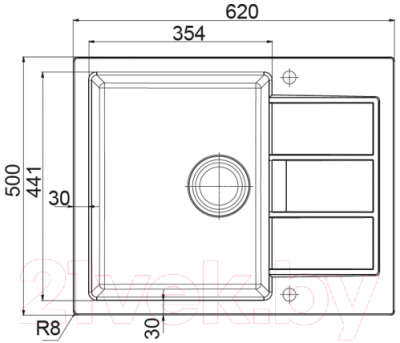Мойка кухонная Franke Sirius SID 611-62/44 (114.0489.210)