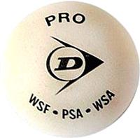 Набор мячей для сквоша DUNLOP White Pro / 627DN700118T -