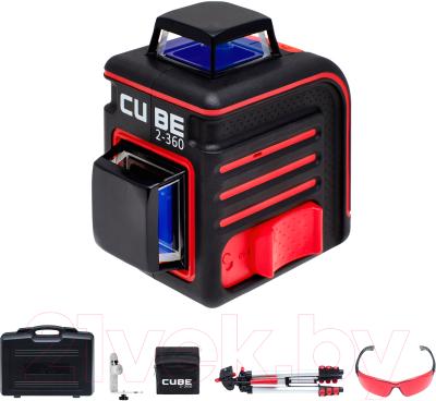 Лазерный уровень ADA Instruments Cube 2-360 Ultimate Edition / A00450 лазерный уровень ada cube 360 ultimate edition [а00446]