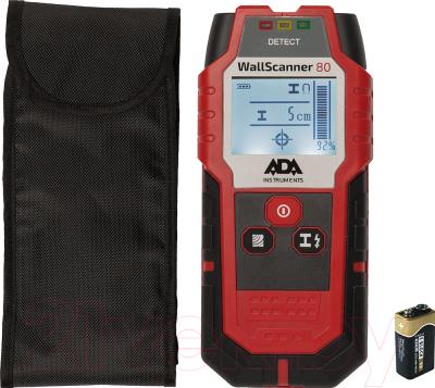 Детектор скрытой проводки ADA Instruments Wall Scanner 80 / A00466