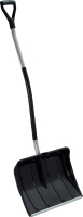 Лопата для уборки снега Prosperplast Alpin Alutube Ergo Eco / ILT2TBE-S411 (черный) -