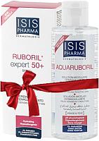 Набор косметики для лица Isis Pharma Крем Ruboril Expert SPF50+ 40мл+мицелляр. вода Aquaruboril 100мл -