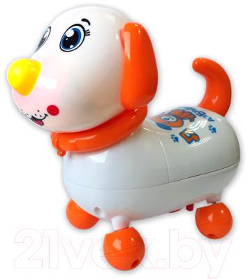 Фото - Интерактивная игрушка Азбукварик Говорящий щенок / AZ-2240 интерактивная мягкая игрушка mioshi active весёлый щенок mac0601 006 белый