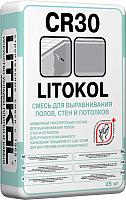 Смесь для устройства стяжек Litokol CR 30 (25кг) -