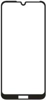 Защитное стекло для телефона Case Full Glue для Honor 8A (черный глянец) -
