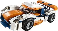 Конструктор Lego Creator Оранжевый гоночный автомобиль 31089 -