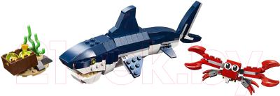 Конструктор Lego Creator Обитатели морских глубин 31088 конструктор lego creator 40460 розы
