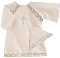 Набор для крещения Pituso 023/Б2 (р-р 74-80, белый) -