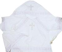 Набор для крещения Pituso 029/Б2 (р-р 74-80, белый) -