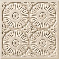 Декоративная плитка Tubadzin Majolika Mocca A (200x200) -