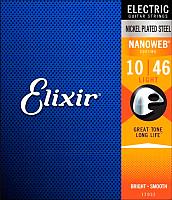 Струны для электрогитары Elixir Strings Nanoweb 12052 10-46 -
