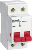 Выключатель нагрузки Schneider Electric DEKraft 17007DEK -