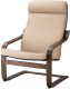 Кресло мягкое Ikea Поэнг 193.028.04 -