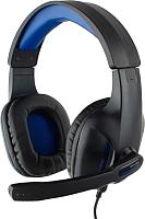 Наушники-гарнитура Gembird MHS-G205 (черный/синий) -