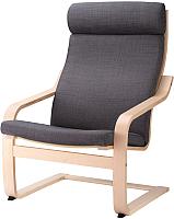Кресло мягкое Ikea Поэнг 593.027.98 -