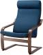 Кресло мягкое Ikea Поэнг 693.028.06 -