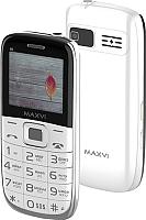 Мобильный телефон Maxvi B6 (белый) -