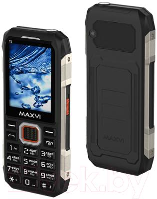 Мобильный телефон Maxvi T2 (черный)