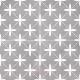 Декоративная плитка Dual Gres Chic Poole Grey (450x450) -
