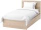 Односпальная кровать Ikea Мальм 292.278.85 -