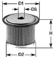Топливный фильтр Clean Filters MG1611 -