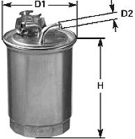 Топливный фильтр Clean Filters DN1945 -