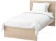 Односпальная кровать Ikea Мальм 392.773.99 -