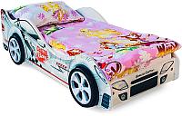 Стилизованная кровать детская Бельмарко Безмятежность / 504 -