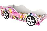 Стилизованная кровать детская Бельмарко Фея / 505 -