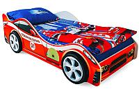 Стилизованная кровать детская Бельмарко Пожарная охрана / 522 -