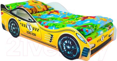 Стилизованная кровать детская Бельмарко Такси / 521