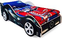 Стилизованная кровать детская Бельмарко Бэтмобиль / 517 -