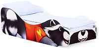 Стилизованная кровать детская Бельмарко Енот Кусака / 532 -