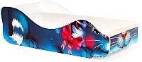 Стилизованная кровать детская Бельмарко Кошка Мурка 535 -