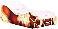 Стилизованная кровать детская Бельмарко Лошадка Талисман / 534 -