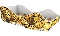 Стилизованная кровать детская Бельмарко Леопард Пятныш / 536 -