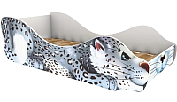 Стилизованная кровать детская Бельмарко Барс Снежок / 530 -